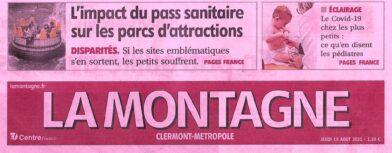 La Montagne - Centre France - Edition du 19 Août 2021